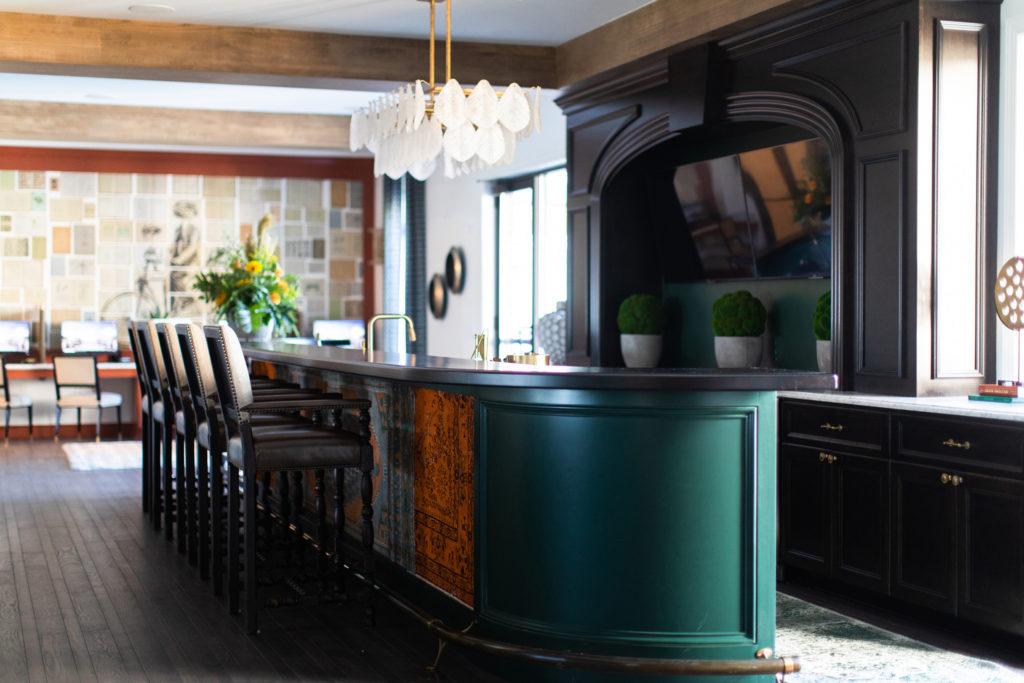 Bar at Belmont House designed by Crimson Design Group