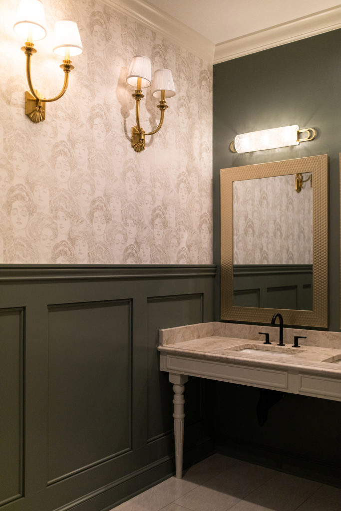 Women's Bathroom at Belmont House designed by Crimson Design Group